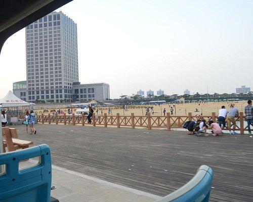 View from main breakwater.