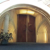 Entrance, no photos inside