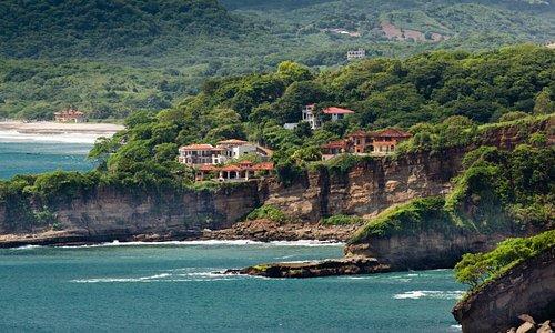 View of Playa Rosada