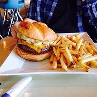 Mac and Cheese Burger.