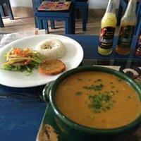 No dejéis de pedir esta sopa, si vais a Mar Abierto!