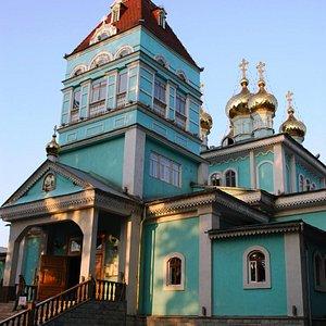 Catedral de São Nicolau - Almaty, Cazaquistão