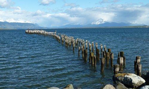 Historische Mole von Puerto Natales