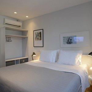 Apartamento com Cama King Size Bê Hotel