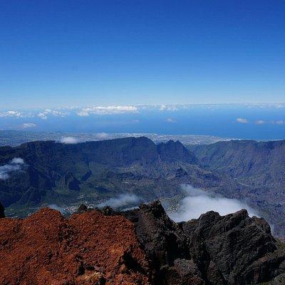 Blick über die Insel - westlich