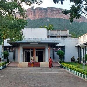 Main building entrance