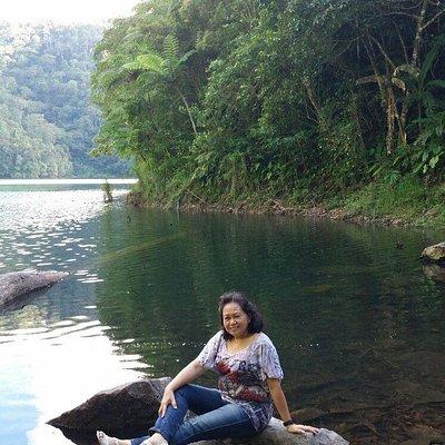 Feeling cool at the 2nd lake