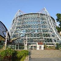 Tropical Rainforest Greenhouse, Botanical Gardens, Taichung city