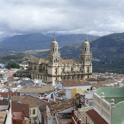 View over Jaen and the Cathedral