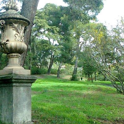 quinta de torre arias, jardin