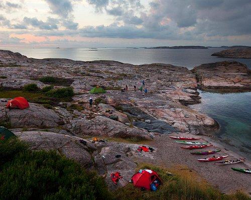 Camp site in Fjällbacka archipelago