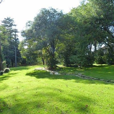 Le jardin et la rivière serpentine