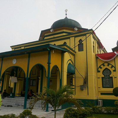 Beautiful heritage mosque