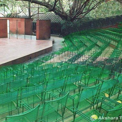 The Akshara outdoor Pipal Tree theatre, 300+ seats