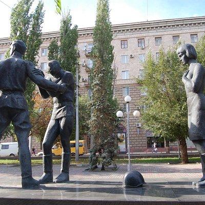 Молодые защитники Сталинграда