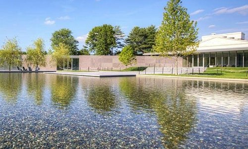 Reflecting pool at the Clark Art Institute