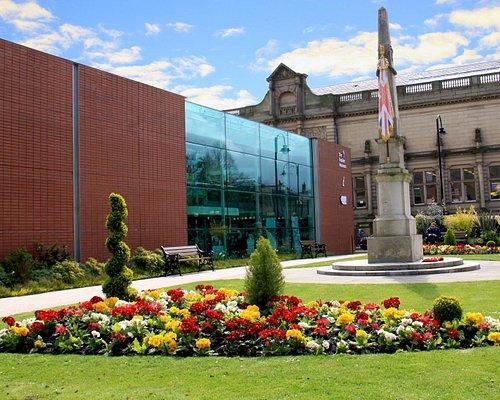 The beautiful museum memorial gardens
