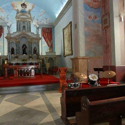 Igreja Matriz São Bento. São Bento do Sapucaí MG.