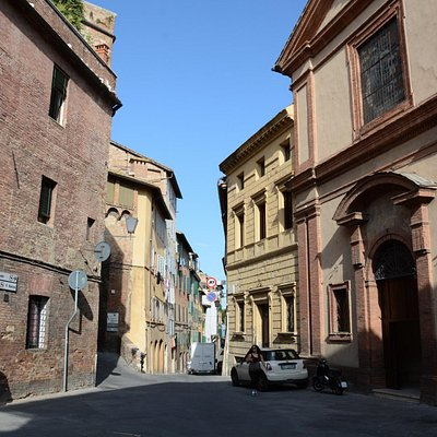 Siena town streets