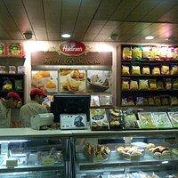 Great Sweets corner inside DT Mega Mall Haldiram inside food court