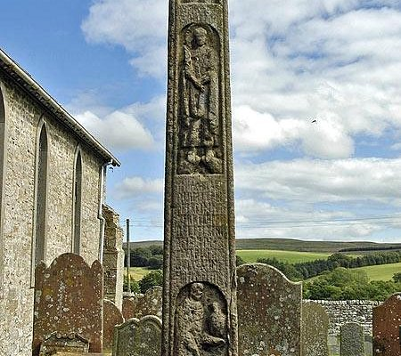 The Bewcastle Cross, Church & Museum.