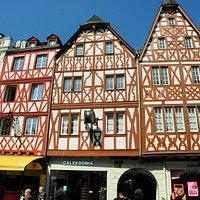Judenpforte mit Fachwerkhäusern