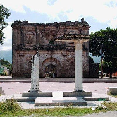 Iglesia Vieja de Chiquimula, Antigua Iglesia de la Santísima Trinidad