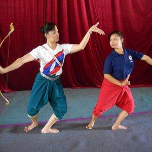 Traditional Lao Dancing