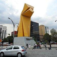 Caballito, cidade do México      foto : Cida Werneck