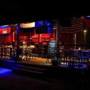 World Bar at night