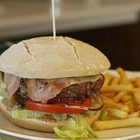 La hamburguesa, fantástica