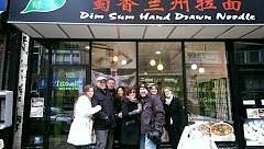 The 8 people who went on the Chinatown walking tour