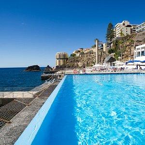 The Marine Deck Pool at the Vidamar Resort Madeira