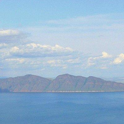 вид с горы Куня на Красноярское море