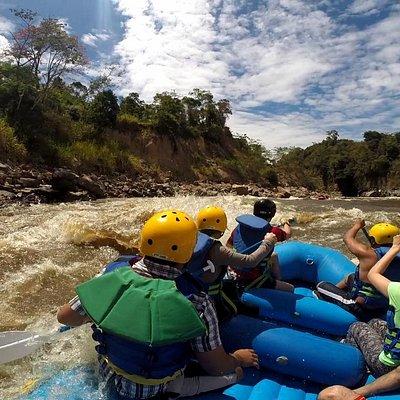Rafting en Colombia, río Páez, maravillosa aventura.
