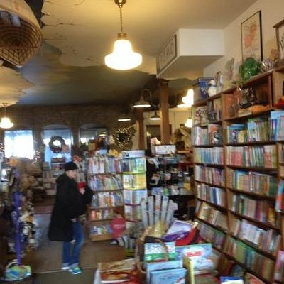 The book store you always dreamed of when you were a kid!