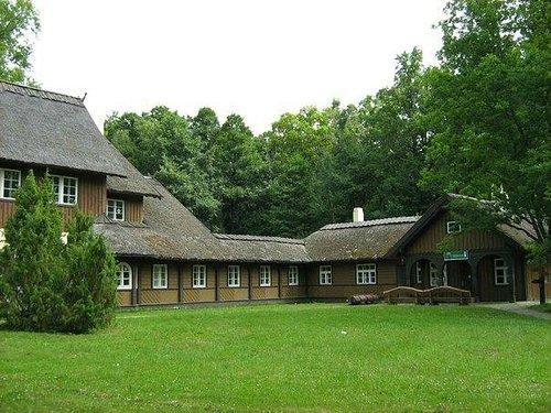 Здание администрации национального парка