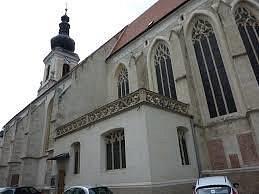Ansicht der Kirche zum Hl. Nikolaus vom Osten