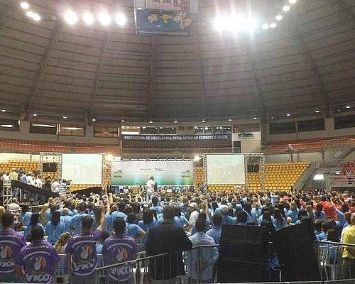 Evento realizado na Arena Multiuso Presidente Tancredo Neves