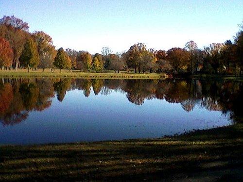 Lake before the renovations