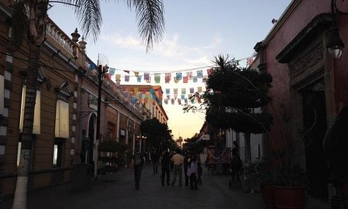 Pedestrian street of Tlaquepaque