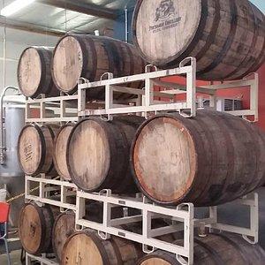 They make a pretty good bourbon barrel beer.