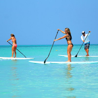 Aruba's only certified sup instructor