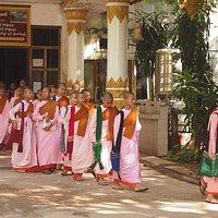 Buddhist nuns -Naga Cave Paya-