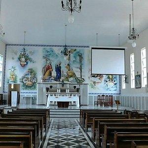 Interior da Igreja Nossa Senhora das Dores _ Gonçalves MG
