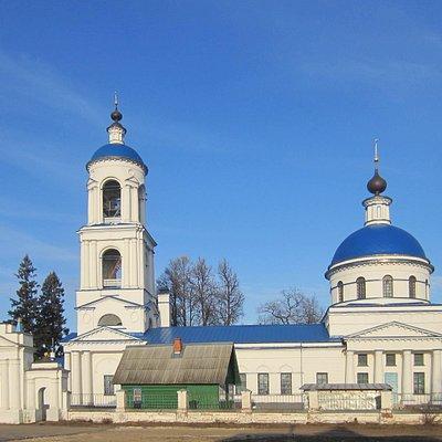 Успенский храм в селе Стромынь Ногинского района