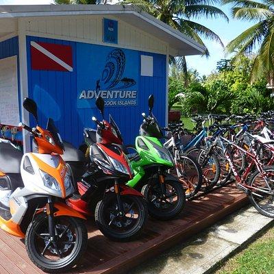 Our shop in Kavera, Rarotonga, Cook Islands