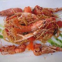 Spaghetti langustine