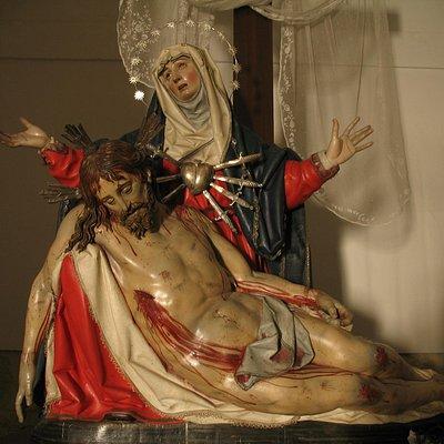 """La """"Pieta"""" de Gregorio Fernández (Monasterio de Santa Clara)"""