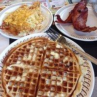 Pecan waffle!
